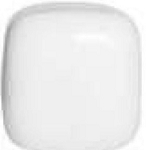 10.5 Inch White Acrylic Cube Lamp Post Globes with 5.25 Inch Bottom Opening