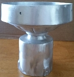 6 Inch Cast Aluminum Post Top Fitter