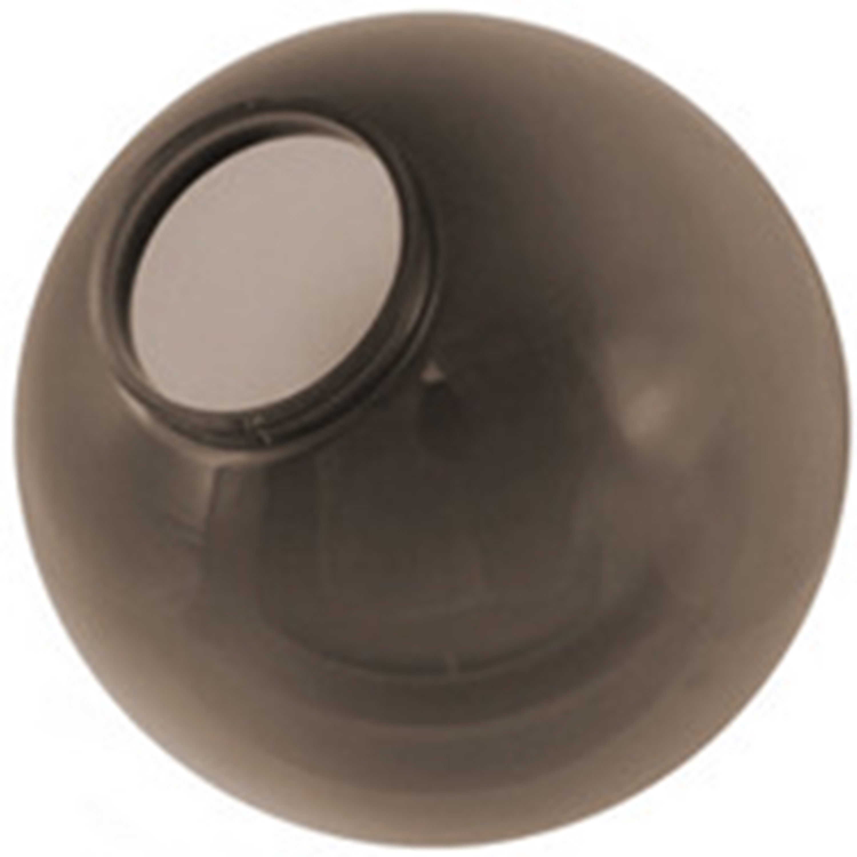 12 Inch Bronze Acrylic Lamp Post Globe With A 5 7 Inch