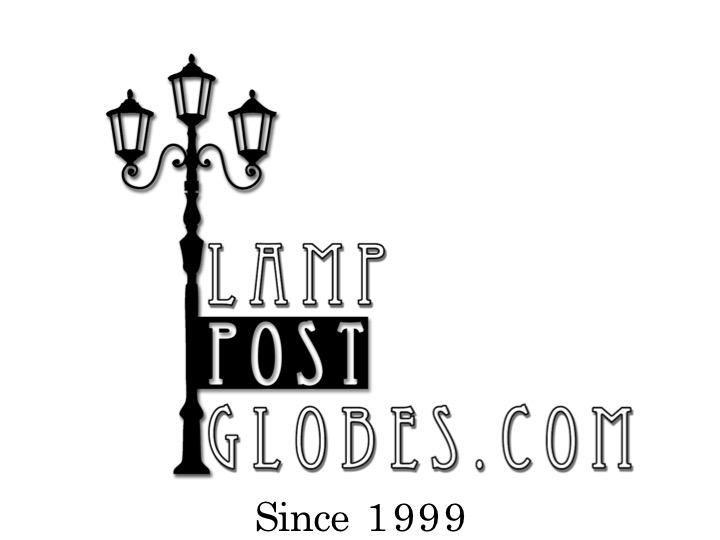 buy outdoor globe post lighting online acrylic garden post light