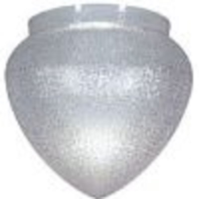 Textured Clear Acrylic Teardrop Lamp Post Globe With 8