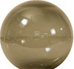 12 Inch Neckless Bronze Acrylic Lamp Post Globes with 5.25 Inch Opening