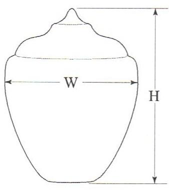 Small White Polyethylene Acorn Lamp Post Globes Neckless