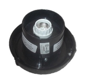 Post Top Fitter For 4 Inch Twist Lock Lamp Post Globes