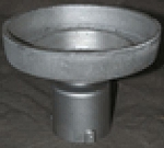 8 Inch Cast Aluminum Post Top Fitter