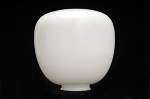 Pear - White Acrylic Locking Flange - 10.5 inch diameter