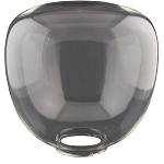 Pear - Clear Acrylic Locking Flange - 10.5 inch diameter