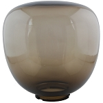 Pear - Bronze Acrylic Locking Flange - 10.5 inch diameter