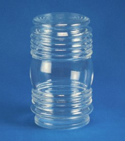6 inch Jelly Jar with 3 inch Solid Flange Neck