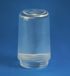 6 inch Prismatic Cylinder with 3 inch Solid Flange Neck