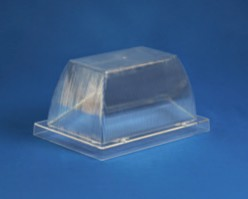 8 inch Clear Acrylic Security Enclosure