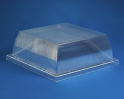 10 inch  Square Clear Acrylic Security Enclosure