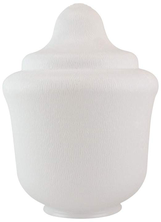 18 Inch Small White Acrylic Trinidad Replacement Lamp Post