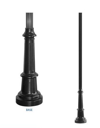 LP1- Light Pole and Base