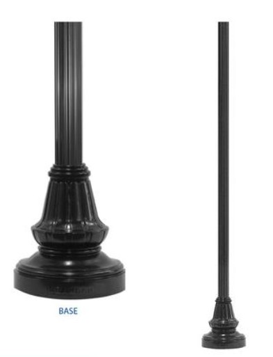LP4- Light Pole and Base