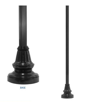LP6- Light Pole and Base
