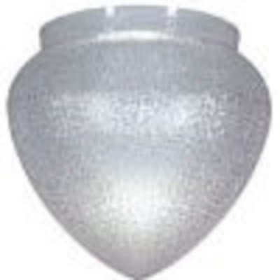 Textured Clear Polycarbonate Teardrop Lamp Post Globe with 8 Inch Necks
